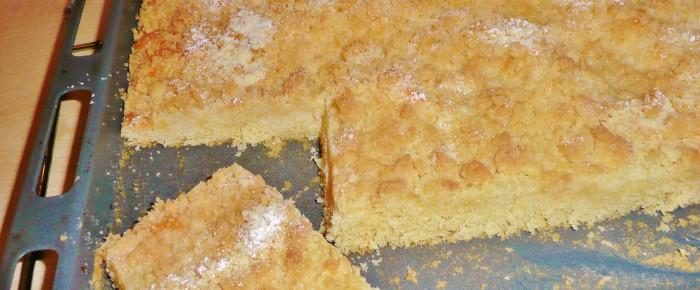 Einfacher Streuselkuchen