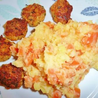Kartoffel-Möhrenpüree