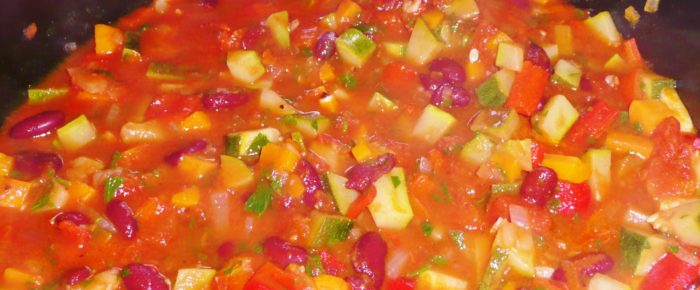 Gemüse-Chili