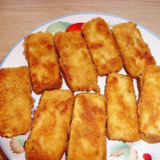Tofu paniert