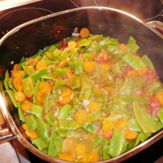 Bohnen-Gemüse