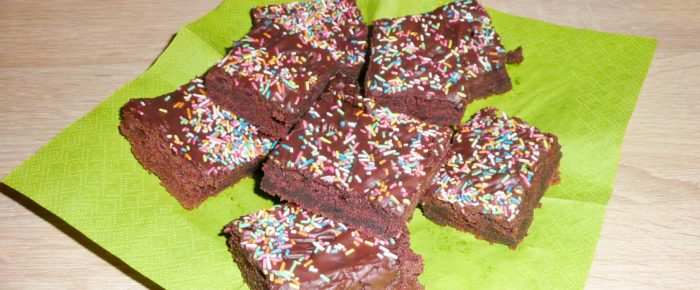 Kinder-Brownies