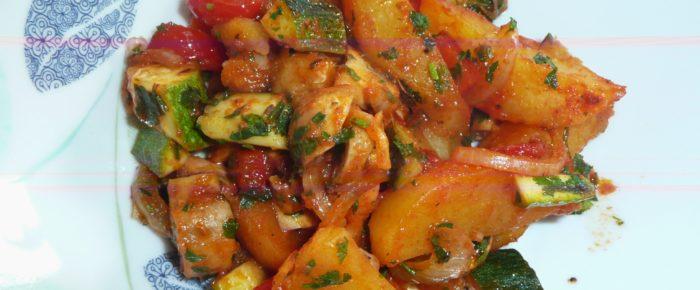 Kartoffel-Gemüsetopf