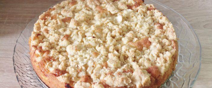 Einfach und lecker Apfel-Streuselkuchen