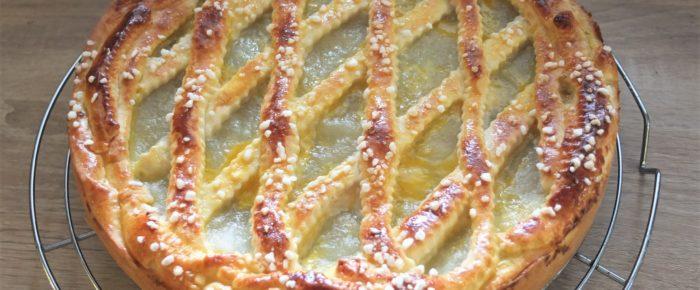 Apfel-Gitter-Kuchen von Mama