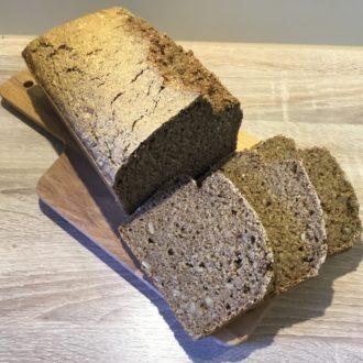 Vollkorn-Dinkel-Brot mit Schwarzbier